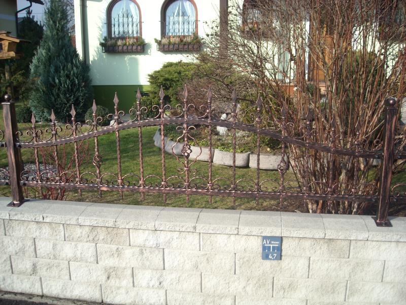 Amazing Vesuv Garden Fence   Arch, Spikes, Wrought, Patinated   Forged Fences